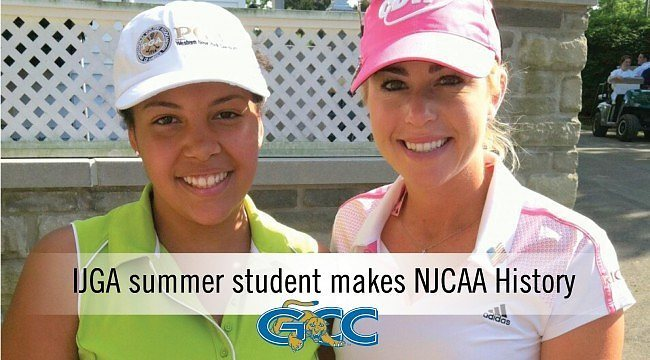 IJGA summer student makes NJCAA History