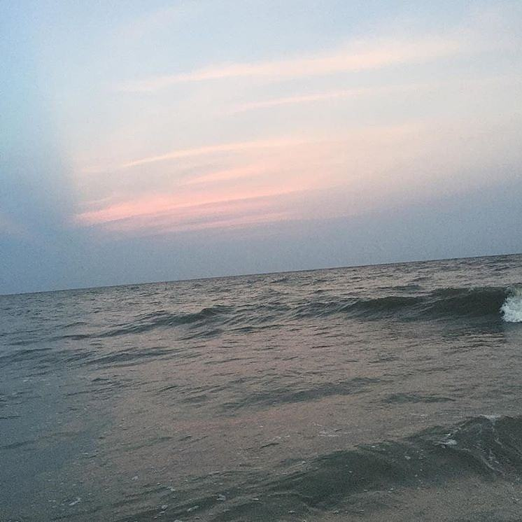 Sunset at Coligny Beach