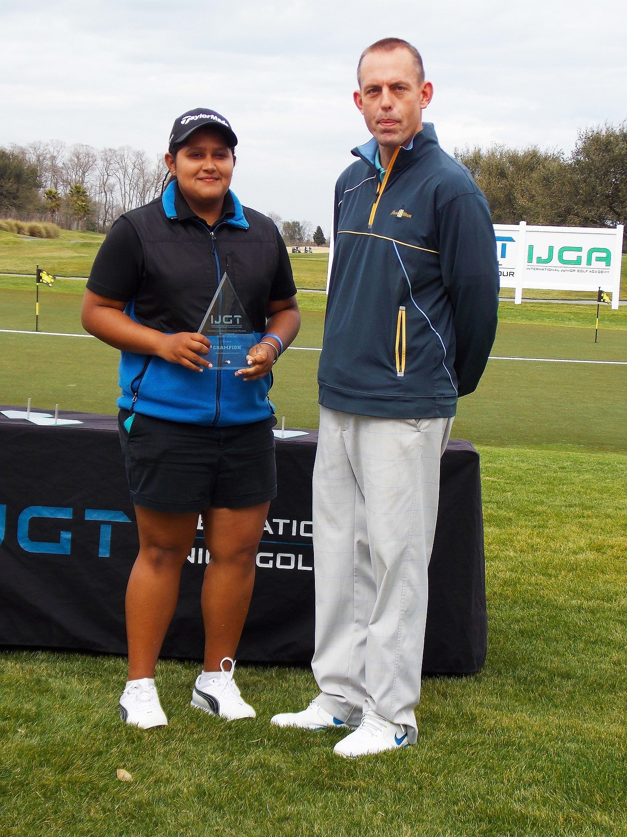IJGTSavannah Harbor Girls Champion Ankita Kedlaya