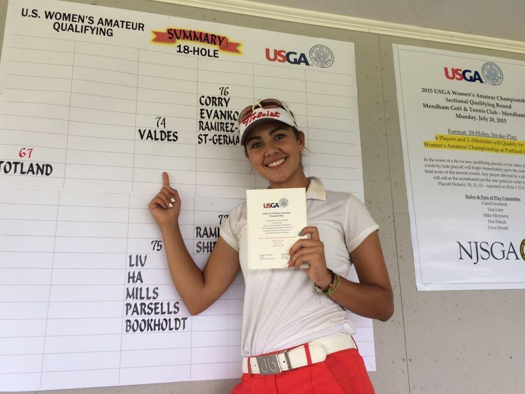 Ana Paula U.S. Women's Amateur Qualifier