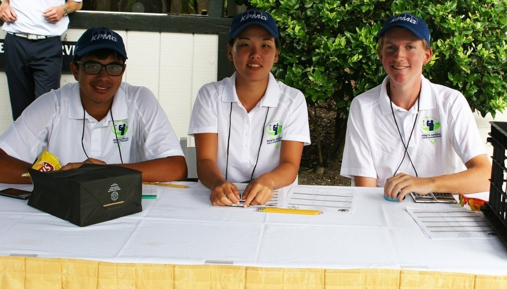 Arjun Puri, Melany Chong and Colton Tanner Special Olympics North America Golf Invitational