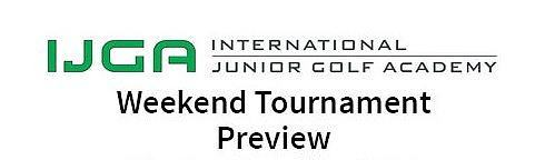 Weekend Tournament Preview