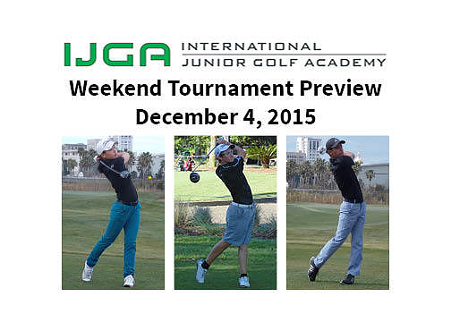 Weekend Tournament Preview December 4