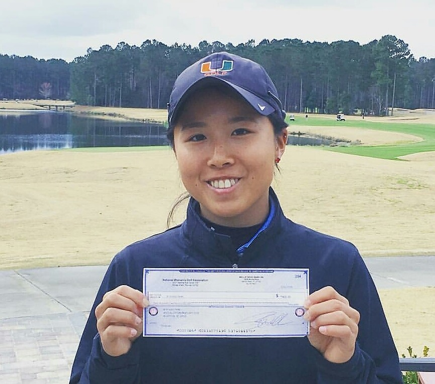 Rika Park Earns First Pro Check