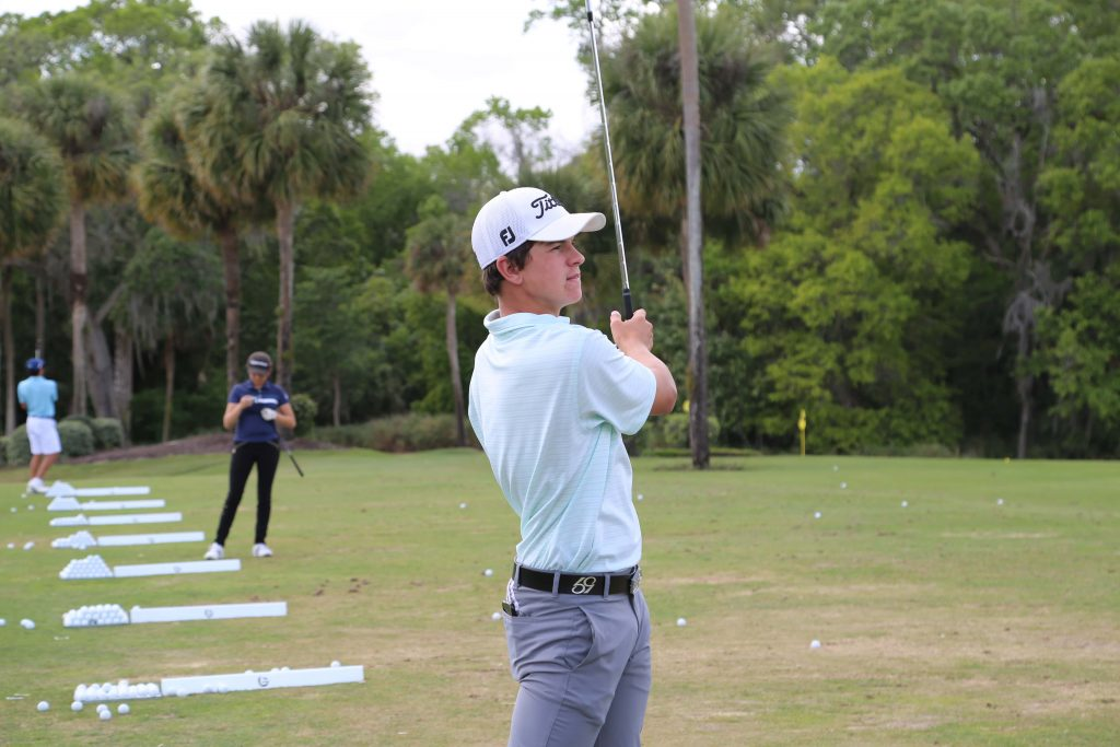 Quick 9 with BGGA Student Cameron Sheedy
