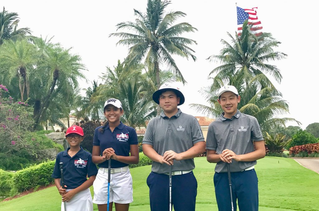 Bishops Gate Golf Academy Students Represent Team China at Ping Pong Diplomacy Golf Duel at Trump International Golf Club