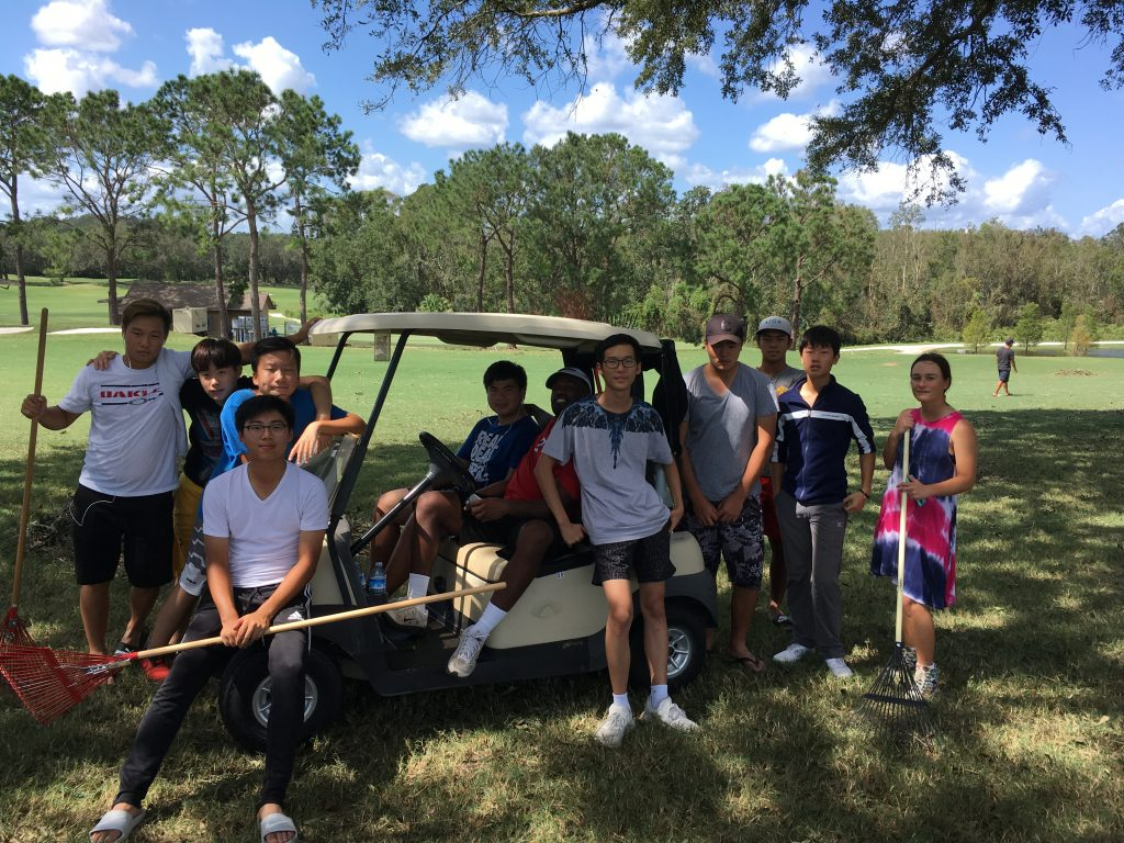 Hurricane Irma Fosters Sense of Community in BGGA Students and Staff