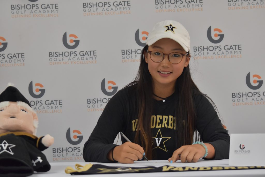 Annie Kim Sees Dream Come True Signing with Vanderbilt Women's Golf