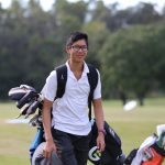 Greg Shen junior golf academy student