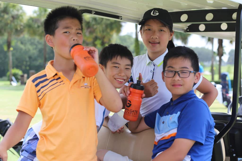 Hydration Considerations for Young Golf Athletes