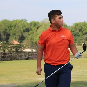 Francis Li Junior Golf Academy Student