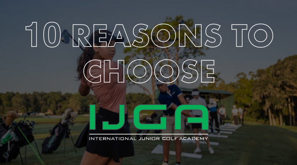 Top Ten Reasons to Choose IJGA